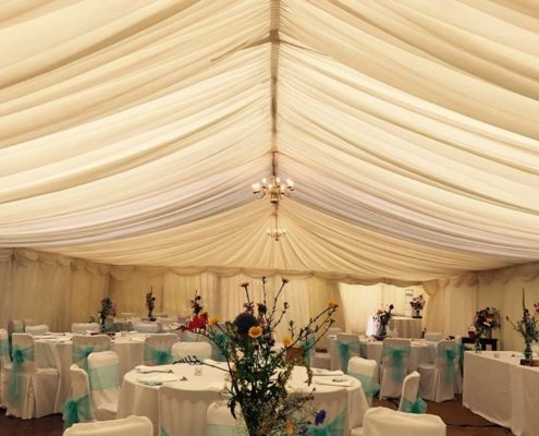 Wedding marquee for hire